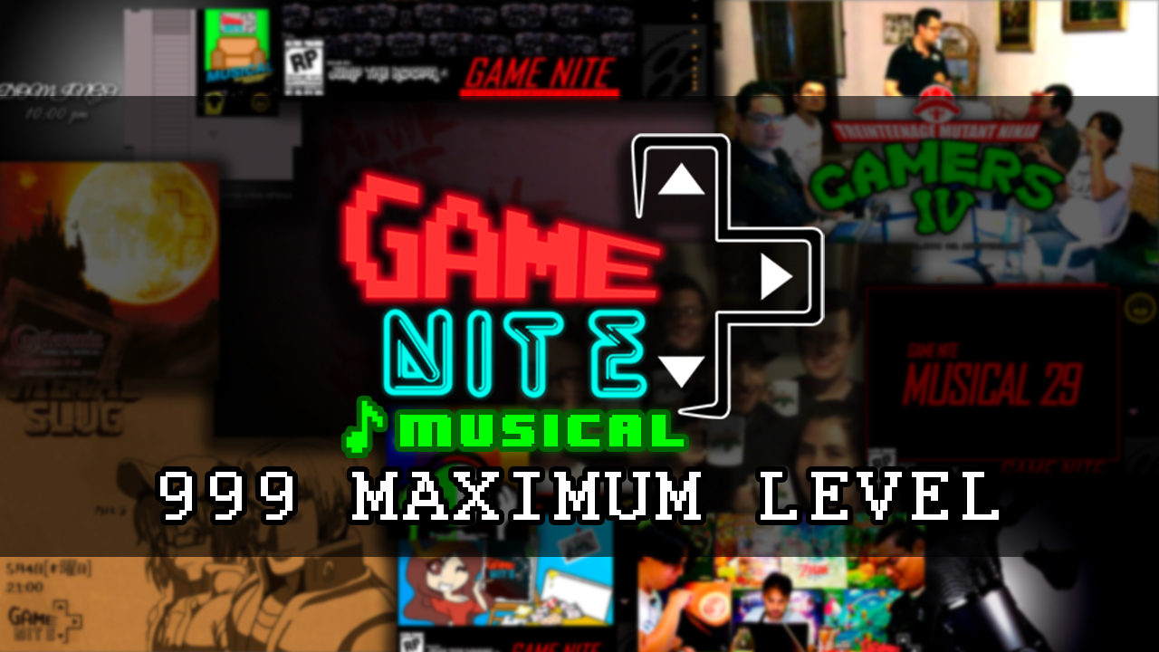 Portada Game Nite Musical 999: Maximum Level
