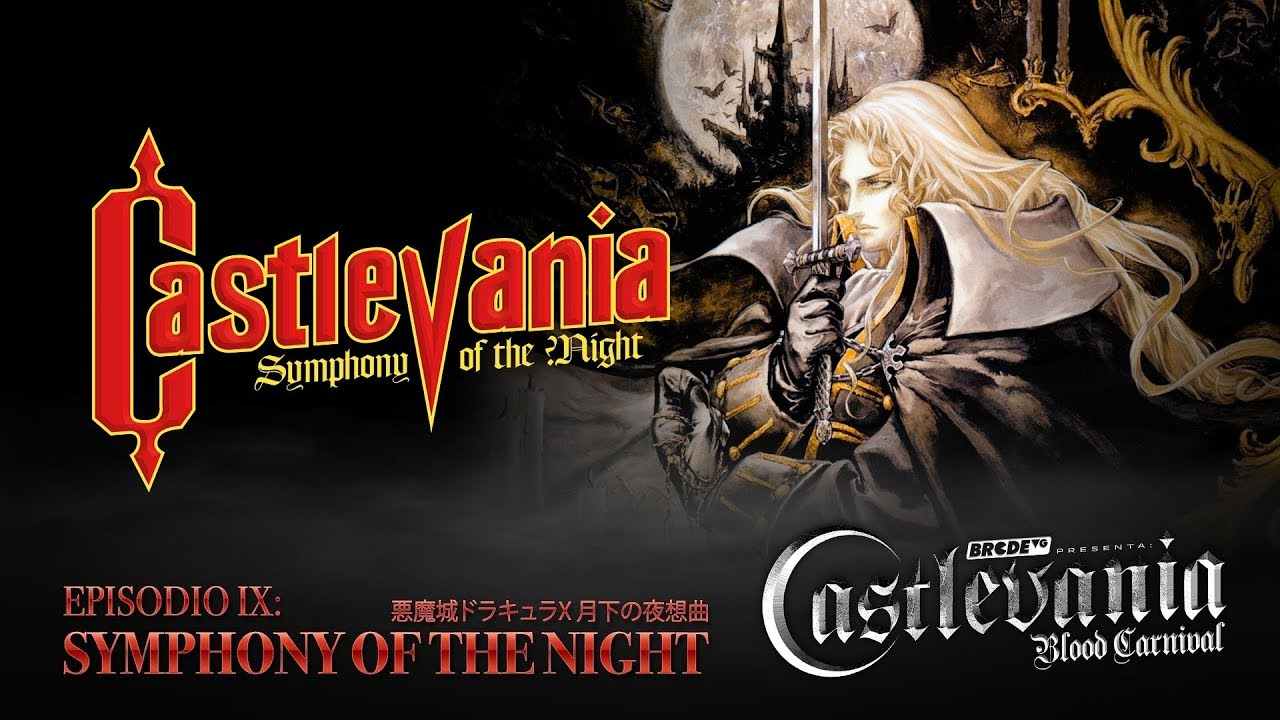 Portada SYMPHONY OF THE NIGHT - Castlevania Blood Carnival