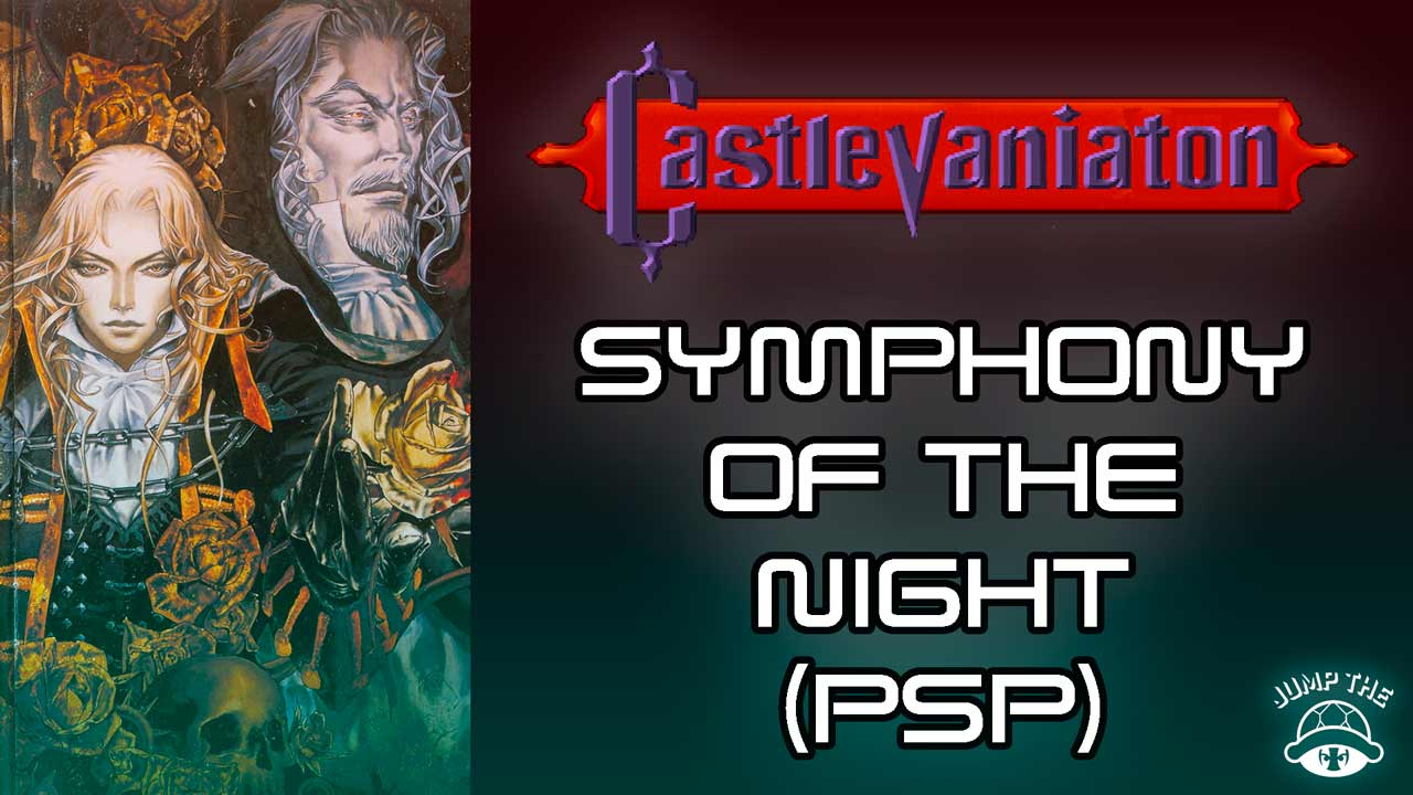 Portada Castlevania Symphony of the Night (PSP)